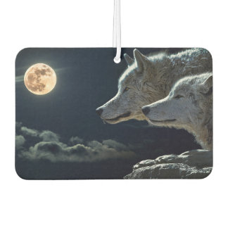 月光のオオカミ カーエアーフレッシュナー