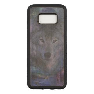 月光のオオカミ CARVED SAMSUNG GALAXY S8 ケース