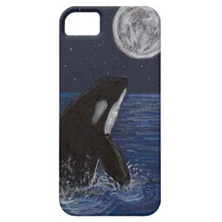 月光のシャチ iPhone SE/5/5s ケース