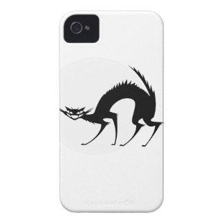 月光のハロウィンの黒猫 Case-Mate iPhone 4 ケース