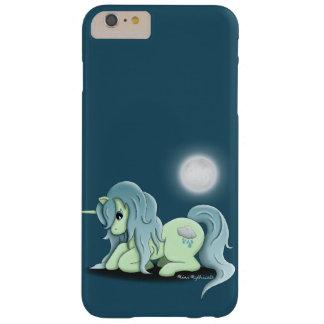 月光のユニコーンのSamsungの銀河系の電話箱 Barely There iPhone 6 Plus ケース