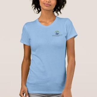 月光のヨガのHoodie/の小さいRacerbackタンク Tシャツ