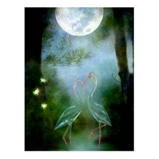 月光のランデブー ポストカード