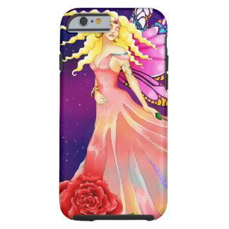 月光の妖精バラの蝶による蝶 ケース