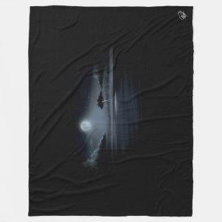 月光の嵐-フリースブランケット(大きい) フリースブランケット