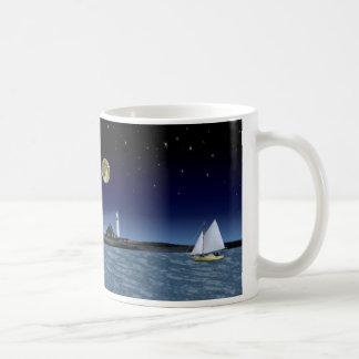 月光の帆 コーヒーマグカップ