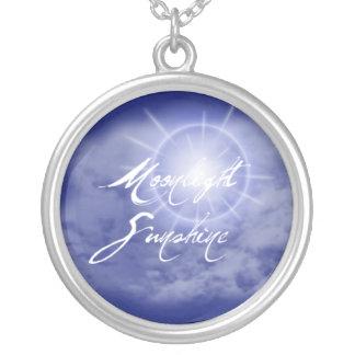 月光の日光のネックレス5 シルバープレートネックレス