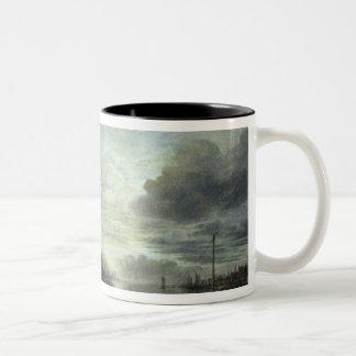 月光の景色 ツートーンマグカップ