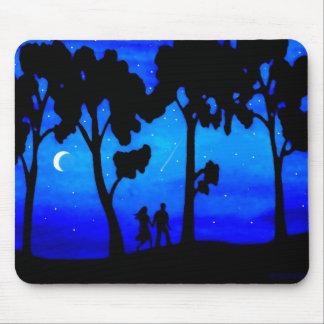 月光の歩行 マウスパッド