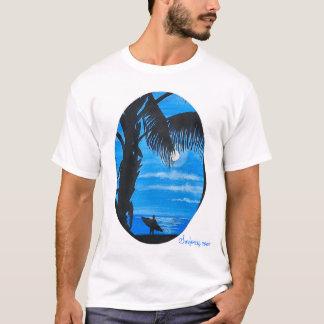 月光の波 Tシャツ