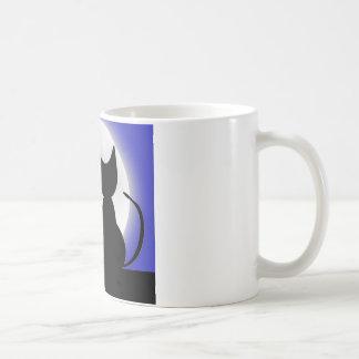 月光の猫 コーヒーマグカップ