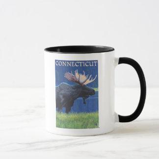 月光のConnecticutMoose マグカップ