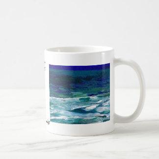 月光のCricketDianeの海の芸術の海 コーヒーマグカップ