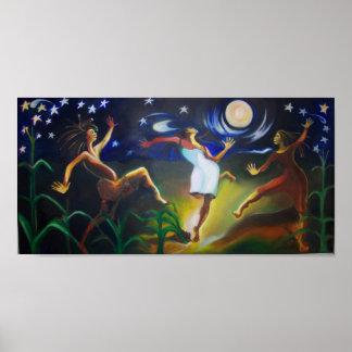 月光のDancin ポスター