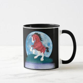 月光のPrancerの馬 マグカップ