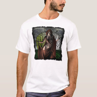 月光のVamp -基本的なTシャツ Tシャツ