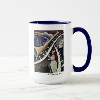 月光ジャズマグ マグカップ