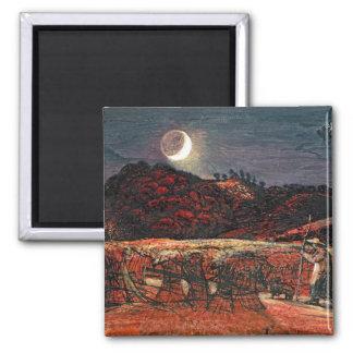 月光1830年によるとうもろこし畑 マグネット