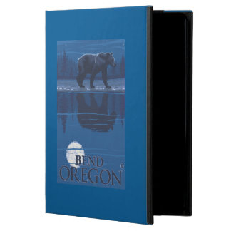 月光-くねり、オレゴンのくま iPad AIRケース