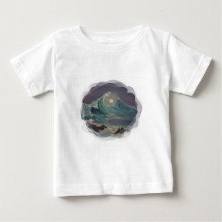 月光 ベビーTシャツ