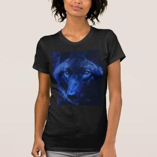 月光(b)のオオカミ tシャツ