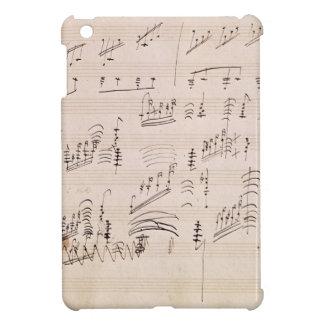 「月光Sonataのスコアシート iPad Miniケース