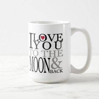 月及び背部母の日のマグに コーヒーマグカップ