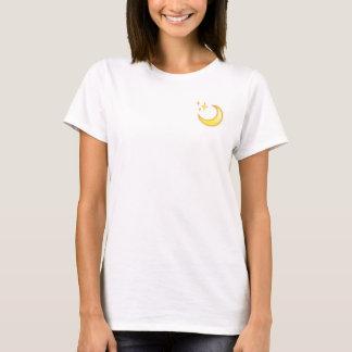 月及び輝きのEmojiのTシャツ Tシャツ
