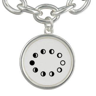 月周期のネックレス ブレスレット