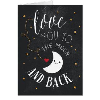 月愛 グリーティングカード