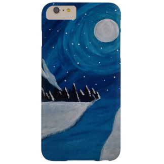 月明りの山 BARELY THERE iPhone 6 PLUS ケース