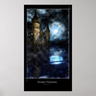 月明りの想像 ポスター