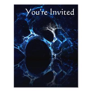 月明りの青い洞窟の口、フラクタルArt. カード