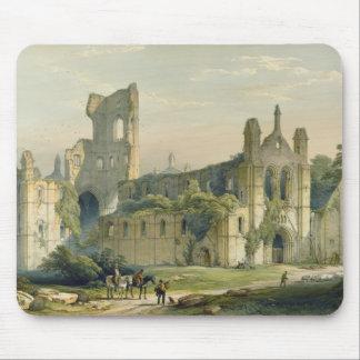 「月曜日からの北西からのKirkstallの大修道院、 マウスパッド