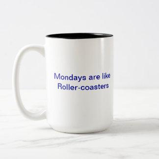 月曜日のマグ ツートーンマグカップ