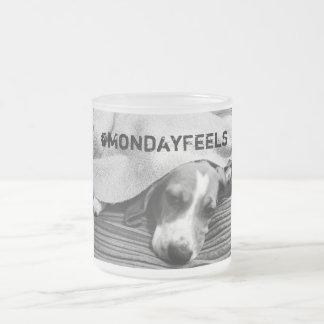 月曜日のマグ フロストグラスマグカップ