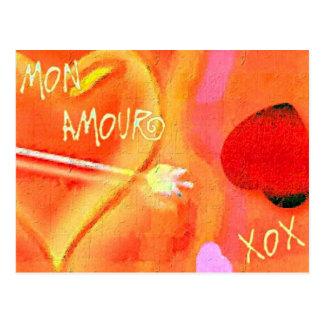 月曜日の恋愛 ポストカード