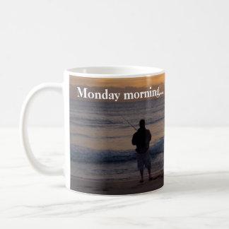 月曜日の日の出 コーヒーマグカップ
