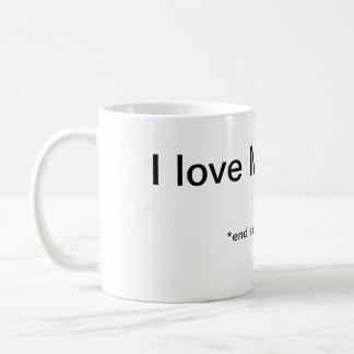 月曜日の皮肉 コーヒーマグカップ