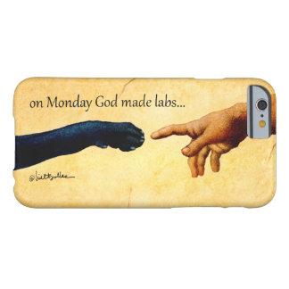 """""""月曜日の神によって作られる実験室""""のBullasのiphoneカバー iPhone 6 ベアリーゼアケース"""