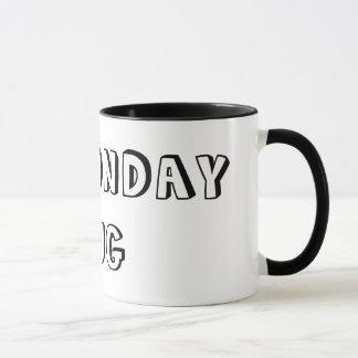 月曜日の私のマグ マグカップ