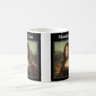 月曜日リサのマグ コーヒーマグカップ