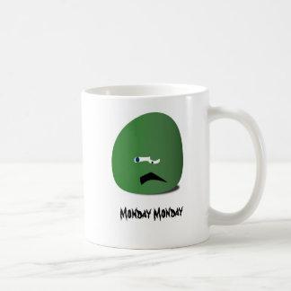 月曜日月曜日のマグ コーヒーマグカップ