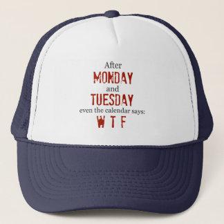 月曜日火曜日の帽子 キャップ
