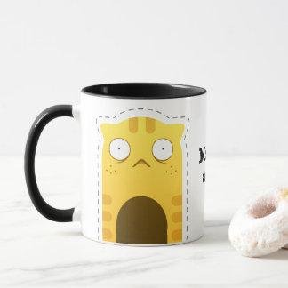 月曜日猫のマグ マグカップ