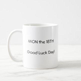 月曜日第18マグ コーヒーマグカップ