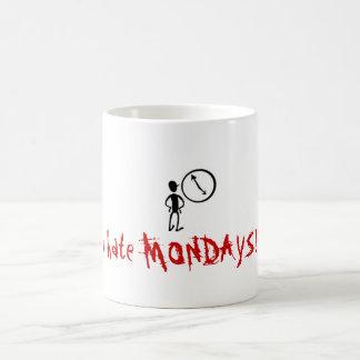 月曜日 コーヒーマグカップ
