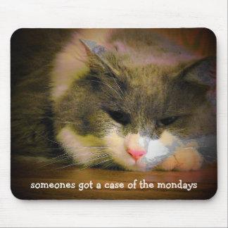 月曜日 マウスパッド