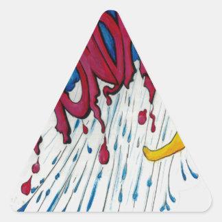 月曜日! 三角形シール
