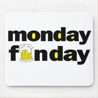 月曜日Funday マウスパッド